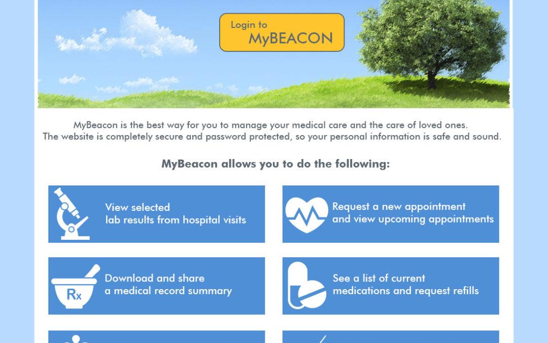 BHS My Beacon UI