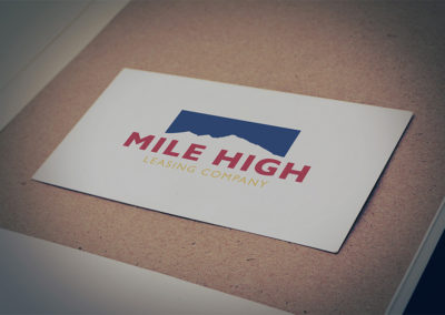 Mile High Leasing Website and Logo